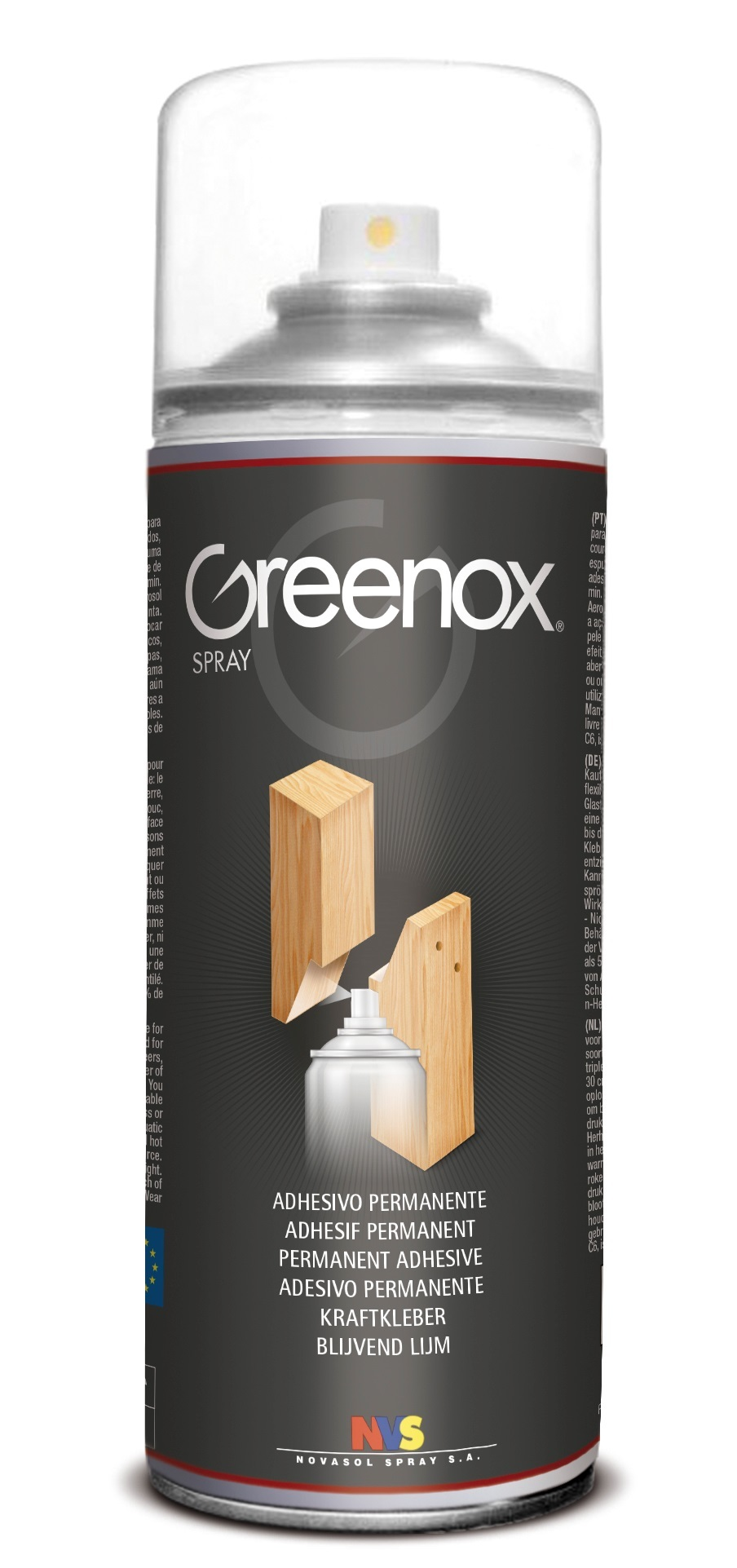 Novasol Spray - Greenox - Permanent Adhesive Spray - 400ml