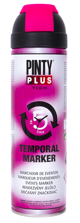 Novasol Spray - Pinty Plus - Tech - Temp & Events Marker Spray Paint - 500ml