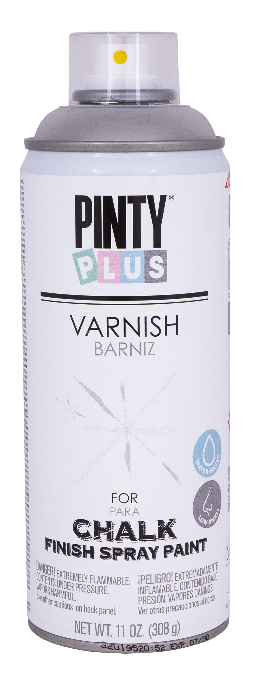 Novasol Spray - Pinty Plus - Matt Varnish for Chalk Spray Paint - 400ml