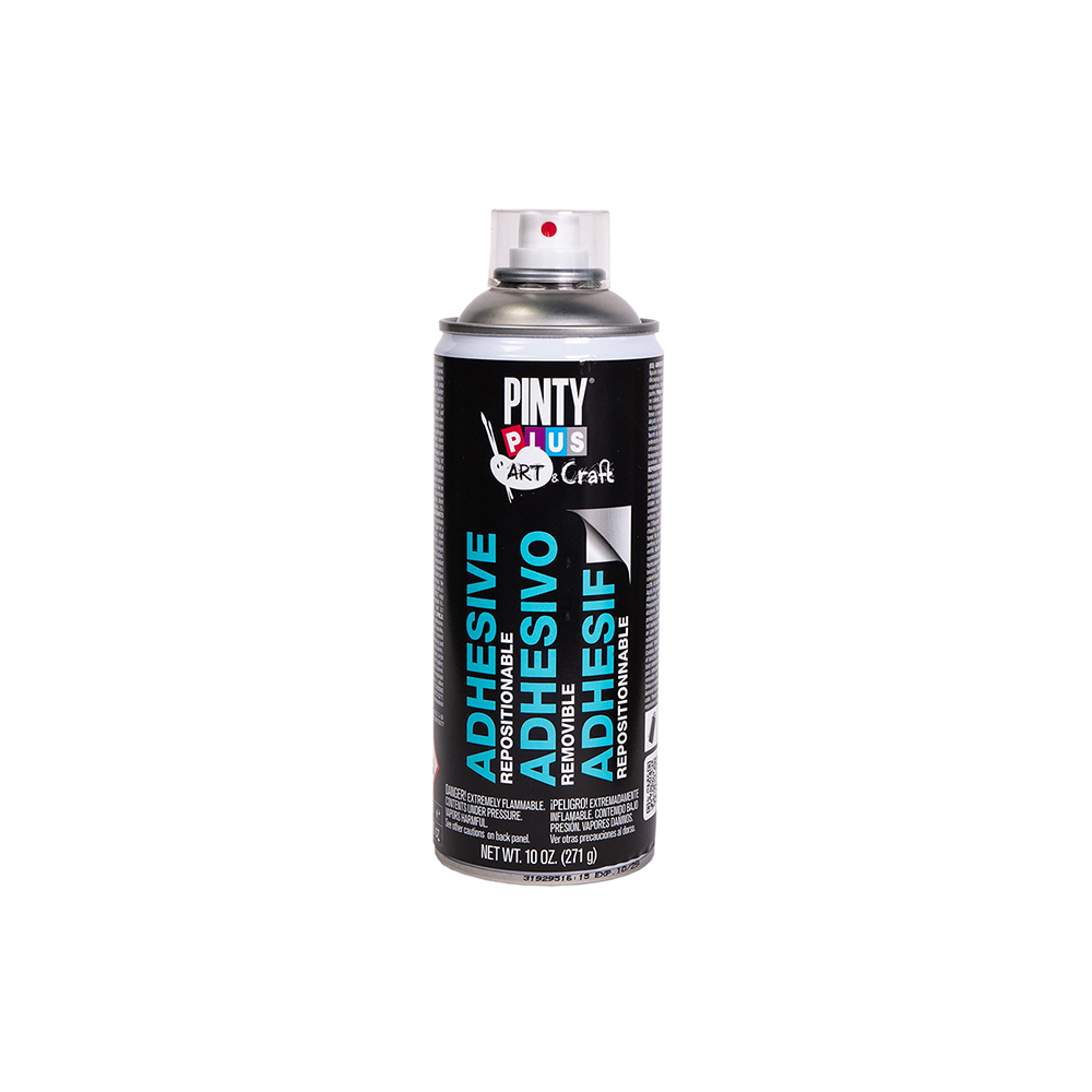 Novasol Spray - Pinty Plus - Art - Repositionable (removable) Adhesive Spray - 400ml