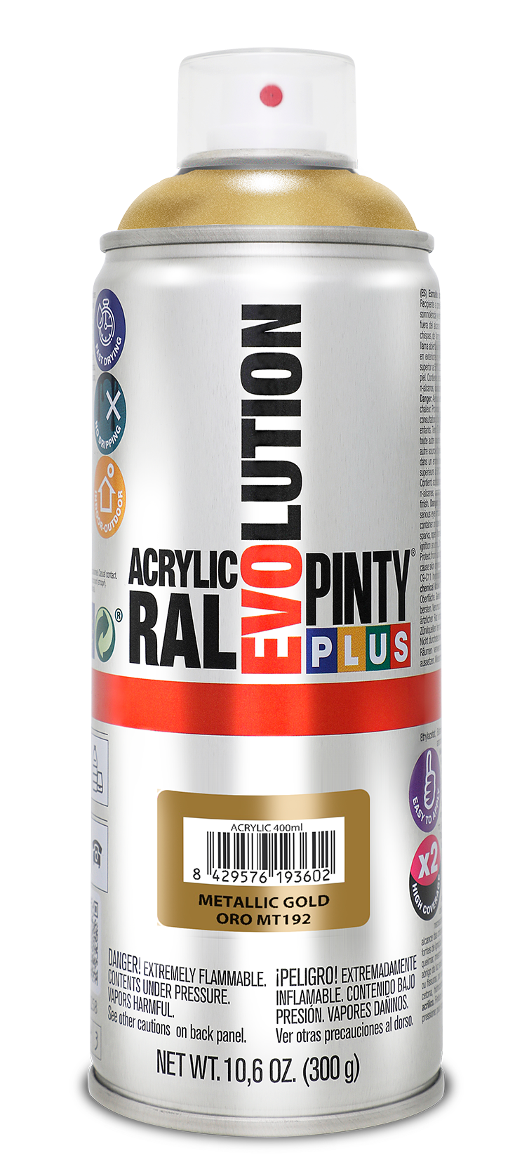 Novasol Spray - Pinty Plus - Evolution - Metallic - 400ml