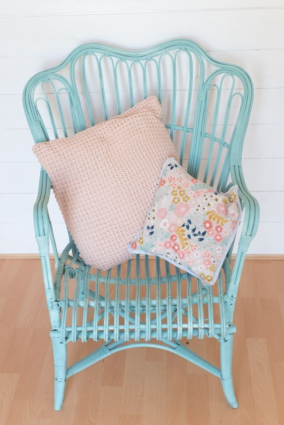 Pinty Plus Ambassador Clare Mansell Wicker Chair For 163 5