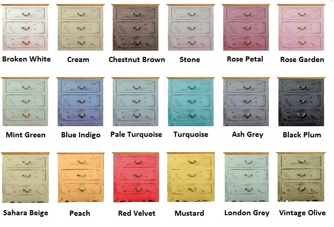 Chalk Paint Colours