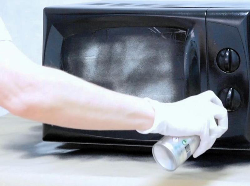 Paint Your Microwave Pintyplus