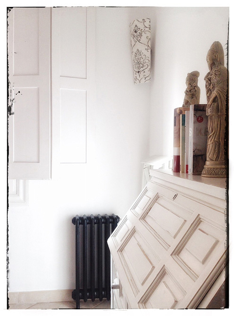 What A Stunning Transformation Of This Vintage Style Cast Iron Radiator.  Well Worth The Effort And Time, Although These Spray Products Made Light  Work Of ...