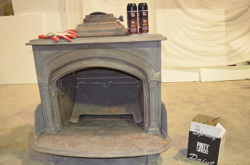 Restoration Of Cast Iron Fireplace, Can You Sandblast Cast Iron Fireplace