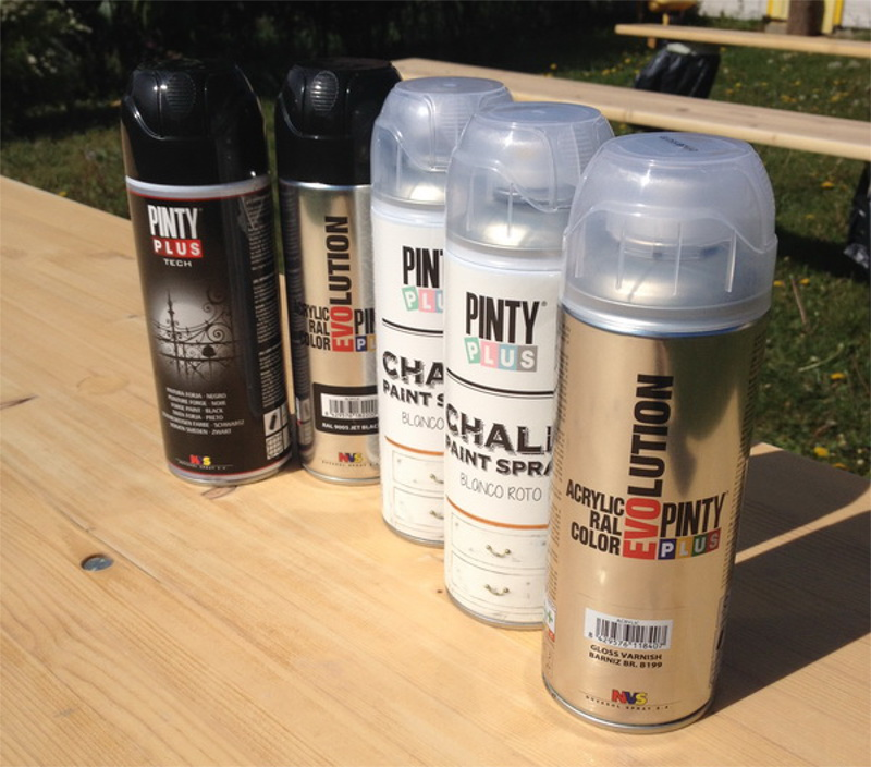 How To Paint Outdoor Furniture With Pinty Plus Chalk Paint