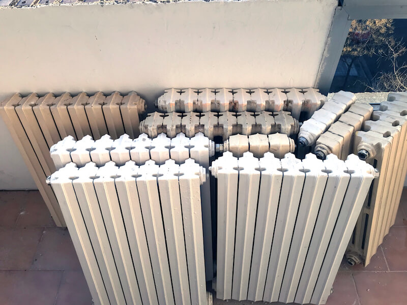 Can You Use Radiators Just After Painting
