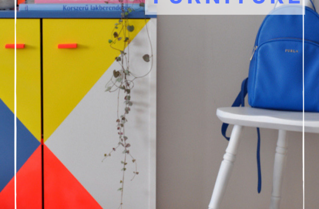 how to paint melamine furniture