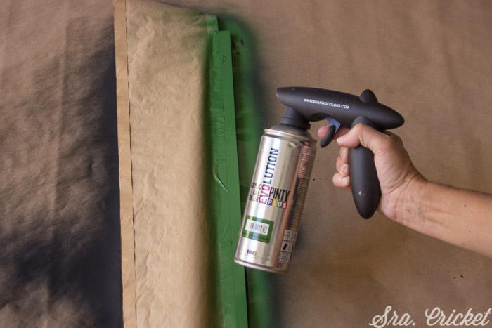 acrylic spray paint easy height chart tutorial