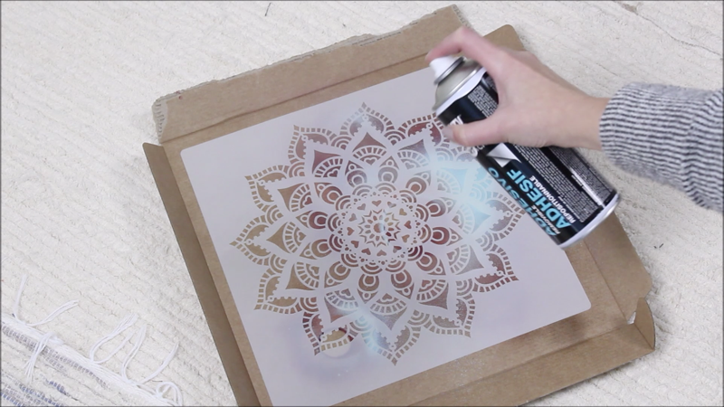 reusable stencils for spray painting
