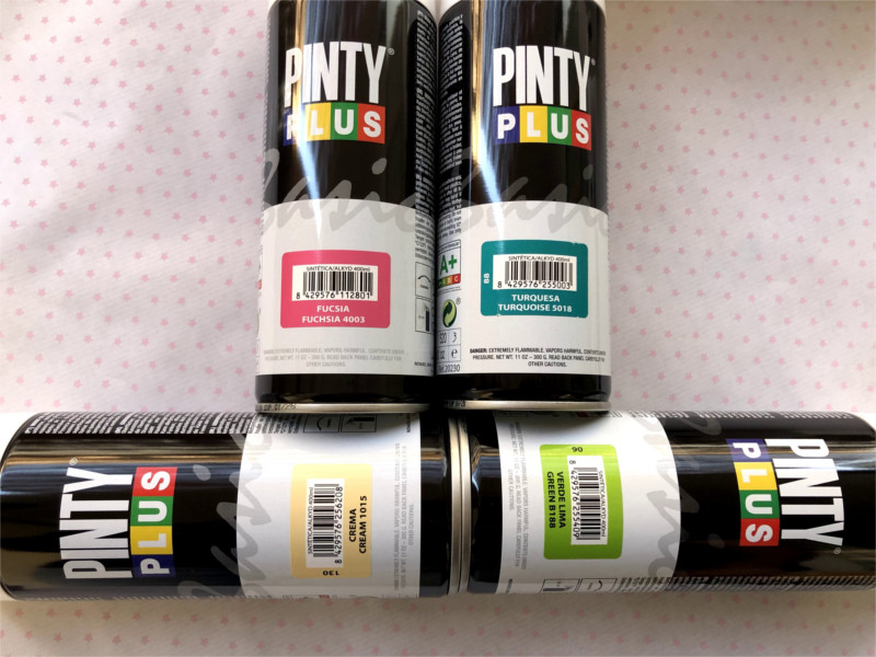 pinty plus basic spray paint