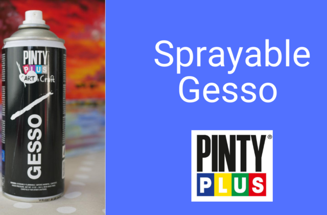 spray gesso from pintyplus