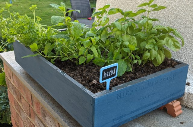 how to make a garden planter with pintyplus home
