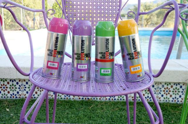 garden furniture respray