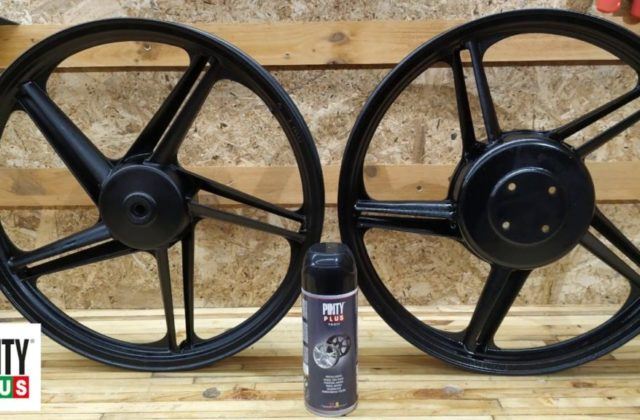 How to use paint on wheel rims