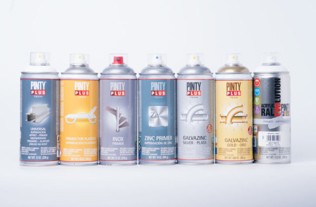 different types of spray primers